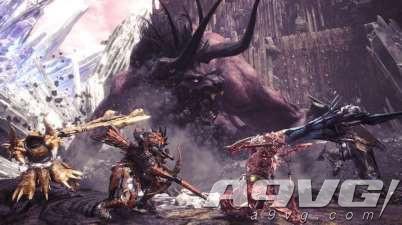 《怪物猎人世界》今日开放免费更新第四弹 贝希摩斯加入
