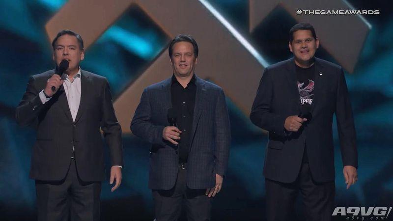 TGA2018经典时刻 索尼微软任天堂三位大佬同时登台亮相