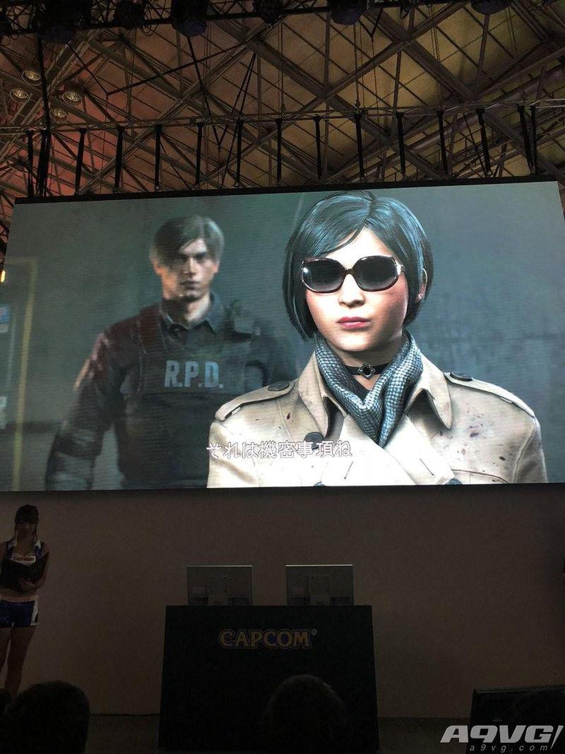 《生化危机2 重制版》艾达·王形象正式公开 身着风衣墨镜