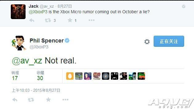 Phil Spencer完全否认了Xbox One迷你版传闻
